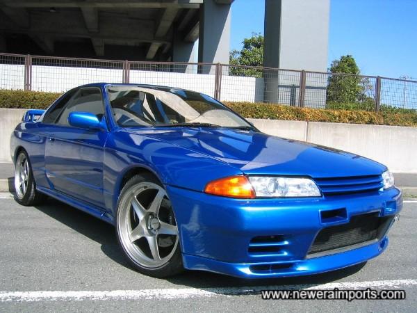 Stunning in R34 Bayside Blue metallic!