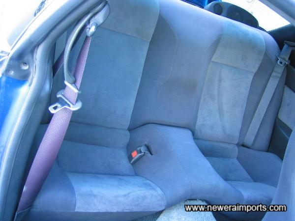 Back seats virtually unused.