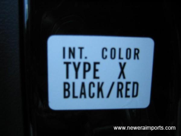 Type X Model.
