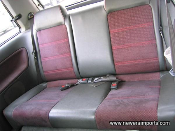 Rear seats lik new also.