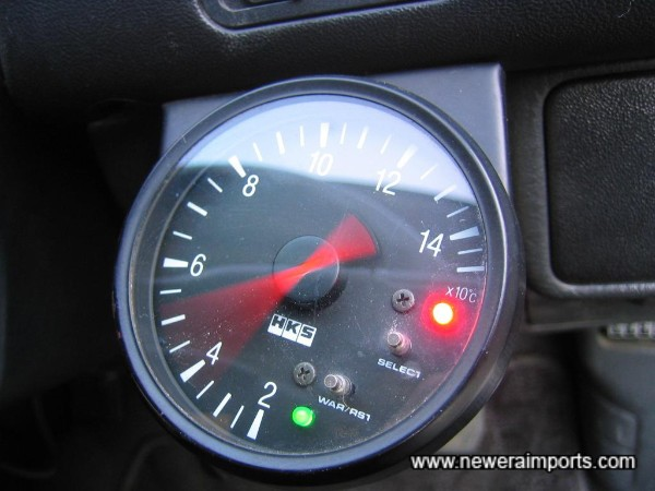 Temperature gauge (Electrical Fault). Gauge is supplied free of charge with this car.