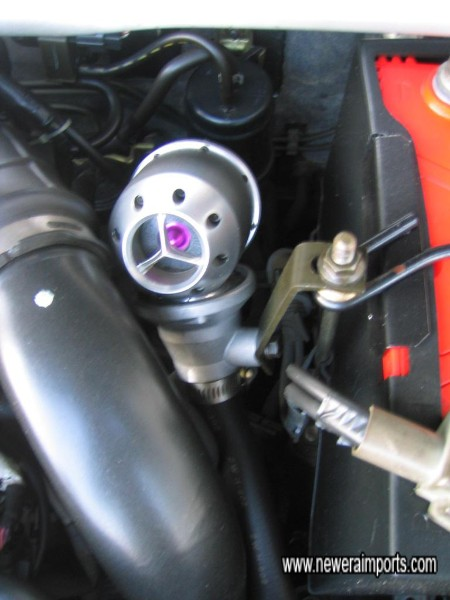 HKS Sequential blow off valve fitted.