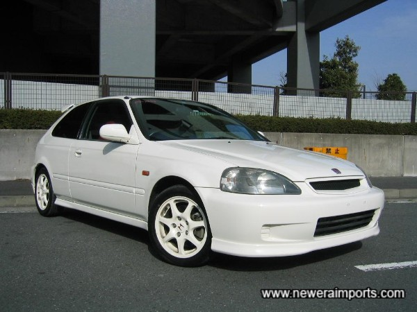 Likely to be one of the rarest, latest  year & very best EK9's in the UK shortly.