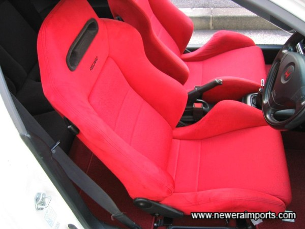 `Driver's seat also undamaged and with no significant wear!