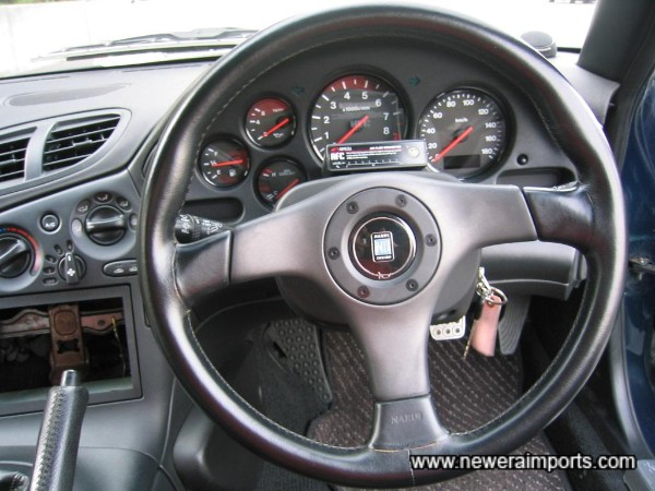 Nardi Steering wheel.