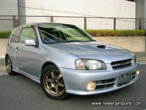 The best example of  a 1996 Glanza V Turbo we've come across!.