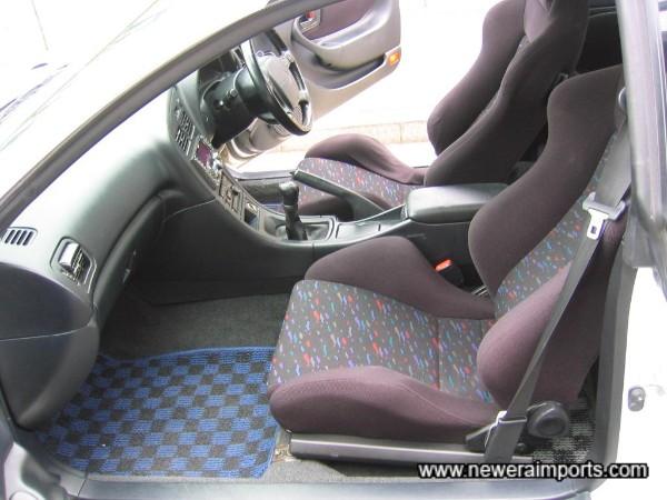 Full Recaro Interior is in excellent condition.
