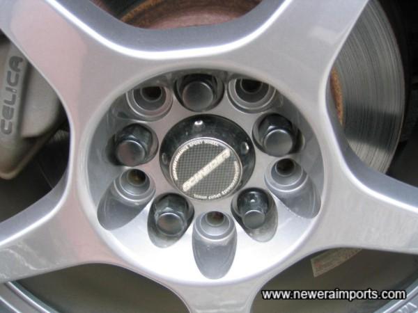 Schneider 17'' wheels recently fitted.