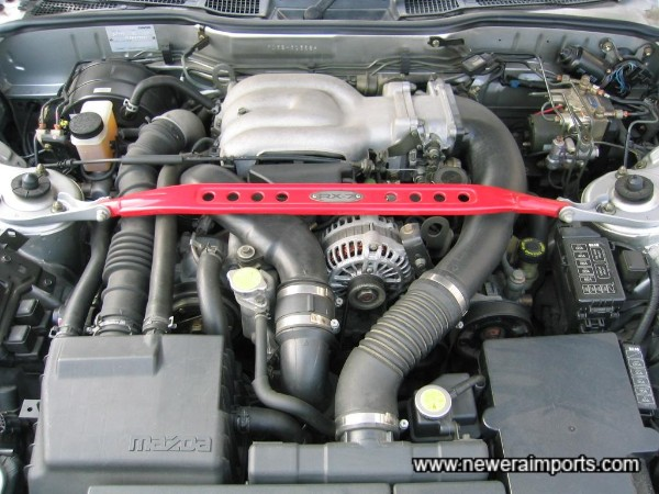 Engine bay is also in excellent unmarked condition.