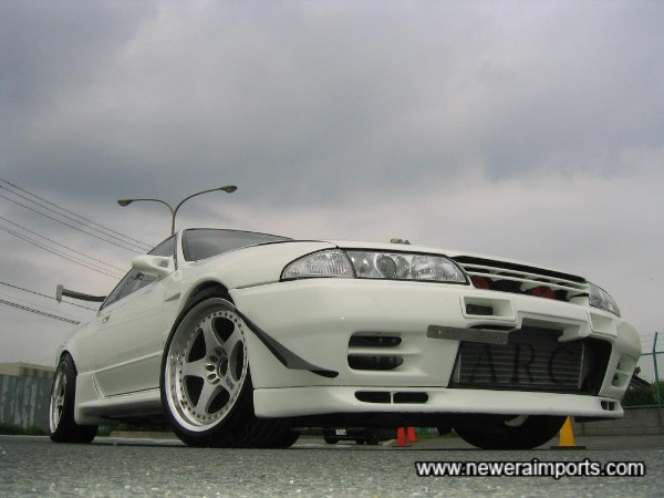 Nismo 18'' wheels set this car off well!