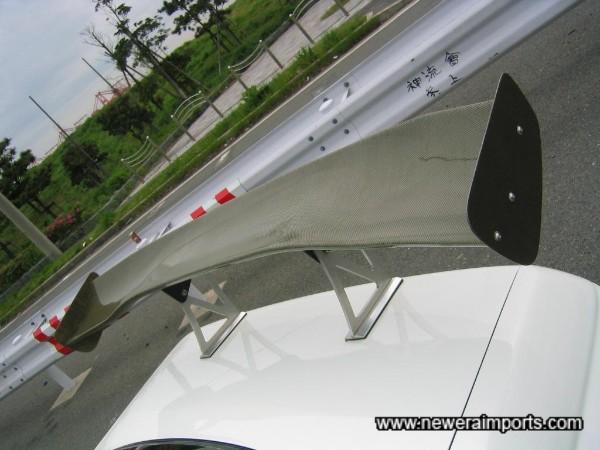 Carbon Kevlar GT Wing!