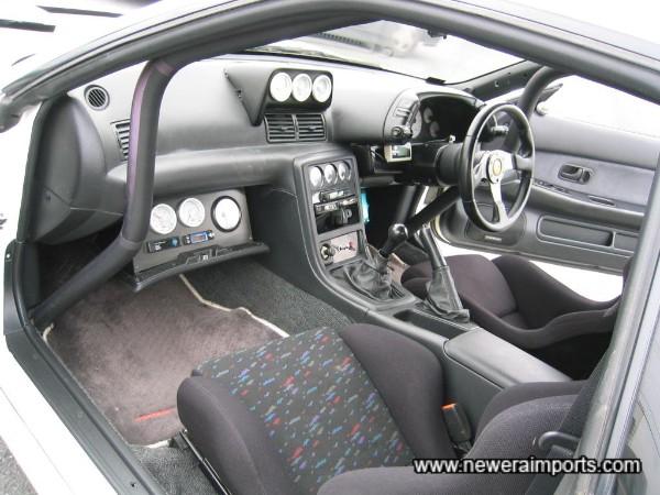 Special interior for a special car!