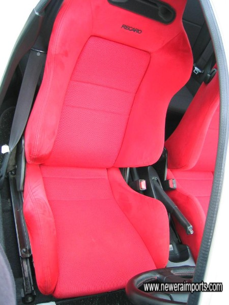 Driver's seat is in excellent original condition!