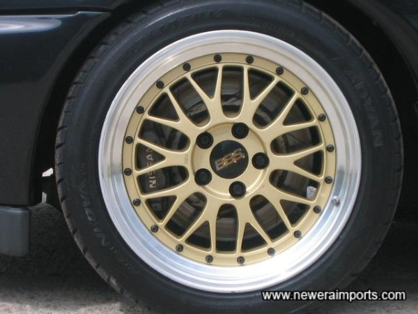 Wheels in good condition