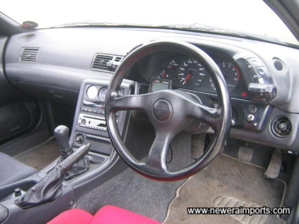 Dash, steering wheel, carpets all in good condition