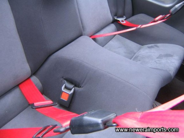 Rear seats in good condition