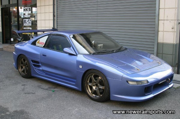 Full TRD 2000 GT Genuine Bodykit - Fitted to perfection.