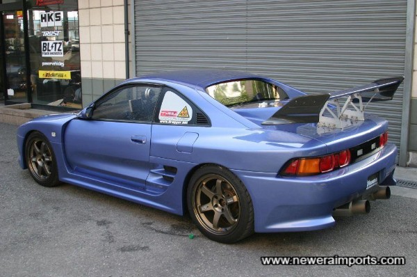 Volk Racing TE37 Forged Alloy Wheels set this car off perfectly!