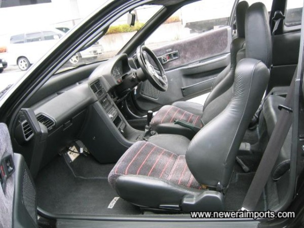 Interior is in excellent condition also.