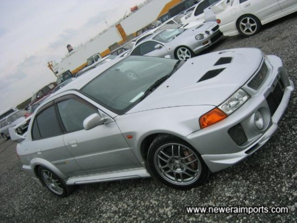 Evo 5 GSR's are arguably the most agressive looking of all Evo's!
