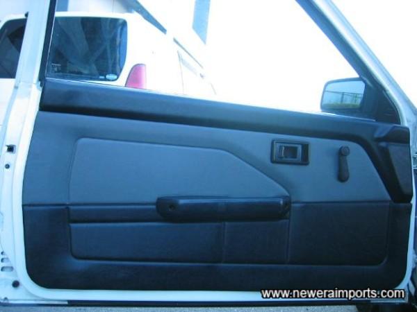 Door trims in excellent original condition.