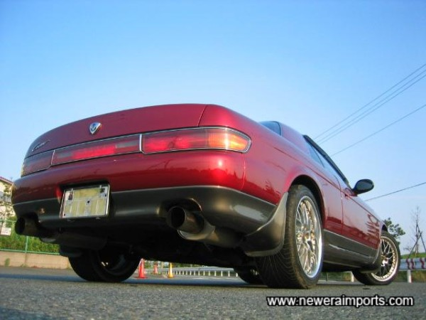 Auto Exe (Mazda Rotary Tuner in Japan) Performance Exhausts.