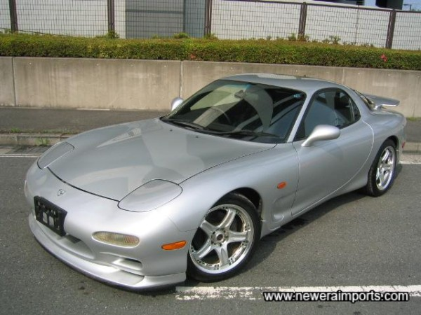 The first Revision IV spec RX-7 we're importing this year!