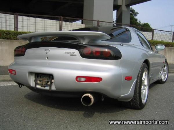 Rev. IV models have facelift rear lights and spoiler.