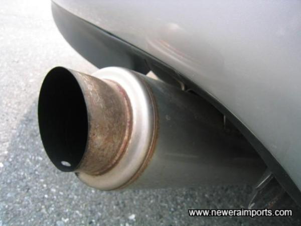 5 Ziglen Miracle Fireball Stainless Exhaust (Cat Back)