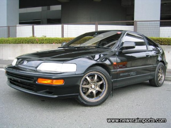 The best condition & lowest mileage example of  a glass top CR-X V-Tec  we've come across this year!