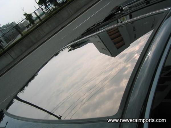 Rare Glass roof!