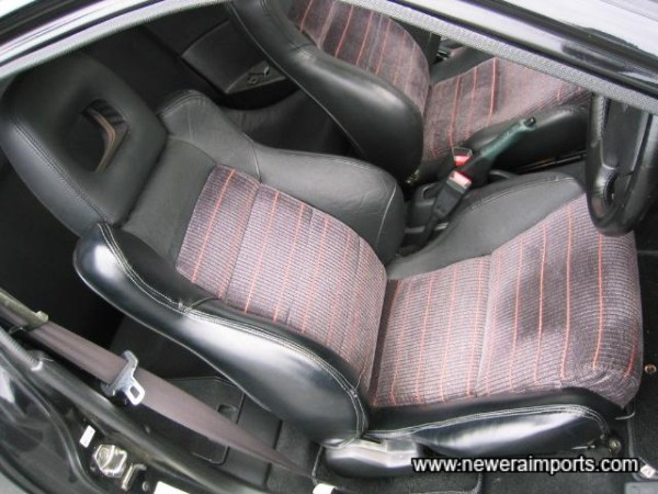Note - Driver's seat has no holes! (As usual on all of these) to the vertical bolster.