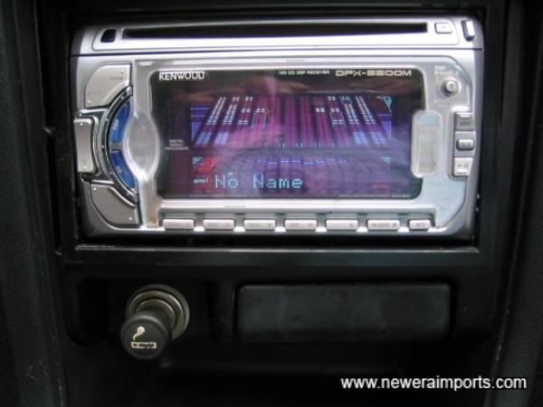 Kenwood 200W audio with MD/CD/Radio.