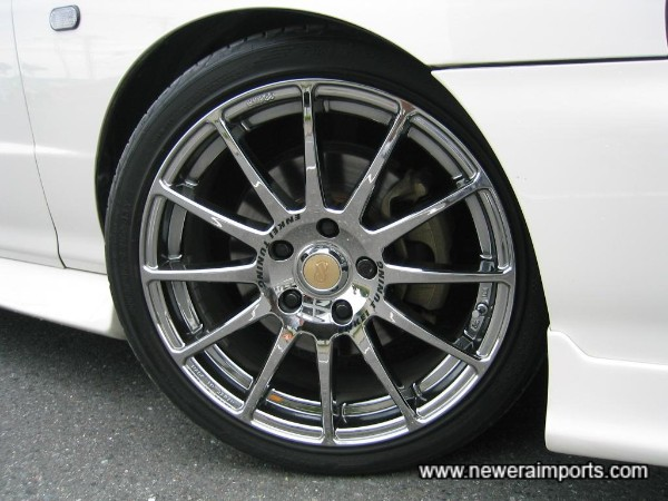Enkei wheels are new