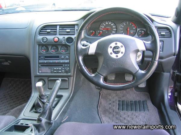 Momo SRS steering wheel!