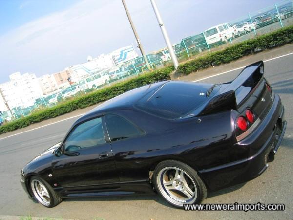 One of the best low mileage R33 GT-R's we've had yet.