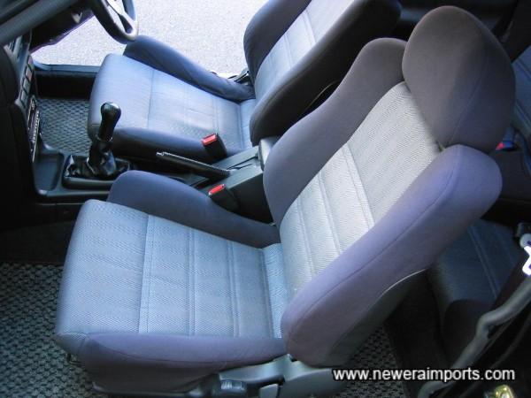 Original interior in excellent condition.