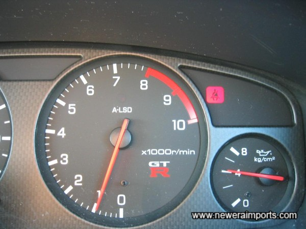 Oil pressure is 5kg per cm2 at idle when cold - Ambient temp 25 Deg C.