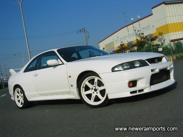 18'' TE37's in white suit this car particularly well!