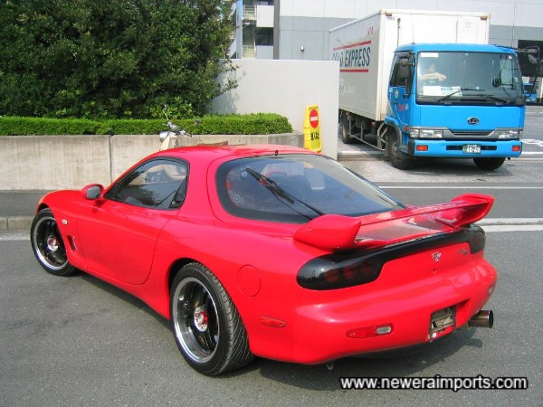 1999 original rear spoiler with adjustable wing section.