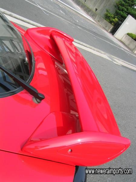 1999 adjustab;e rear spoiler.