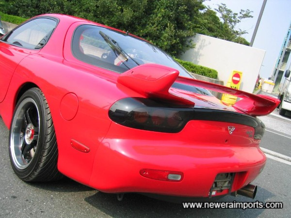 1999 original rear spoiler - Again, expensive from Mazda!