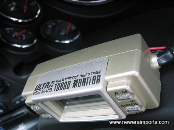 Ultra Turbo Timer & Turbo monitor.