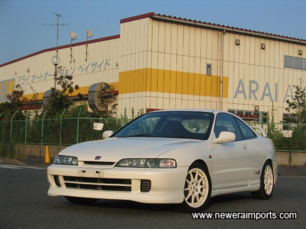 98 Spec carries larger 16'' Enkei manufactured wheels and updated front bumper.