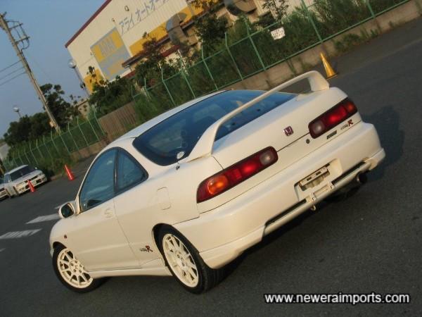 98 Spec carries an updated rear bumper too.