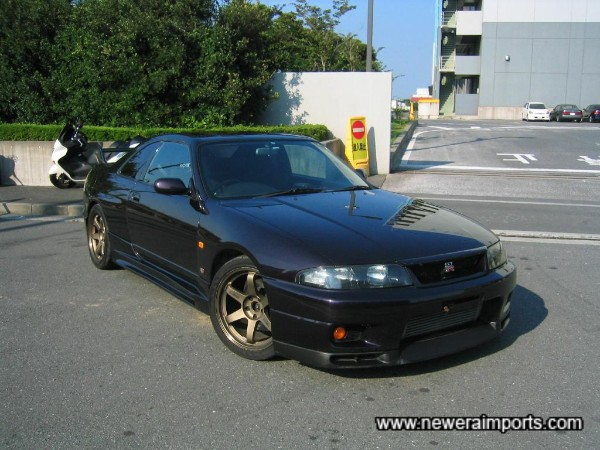 The most sought after colour of all for an R33 GT-R