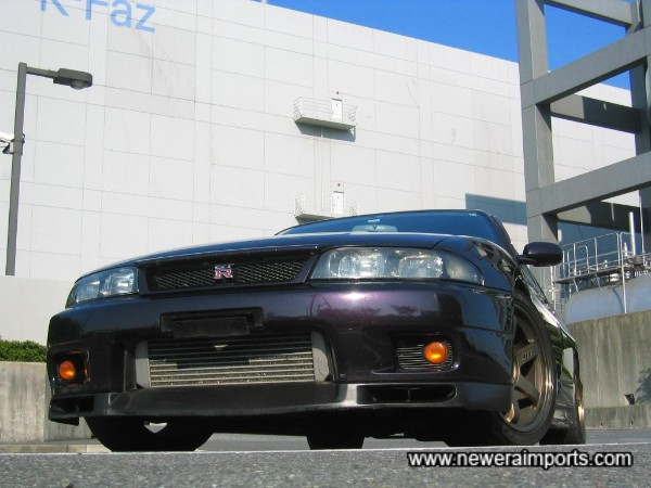 Nismo style front bumper intercooler vents are available through www.neweraparts.com