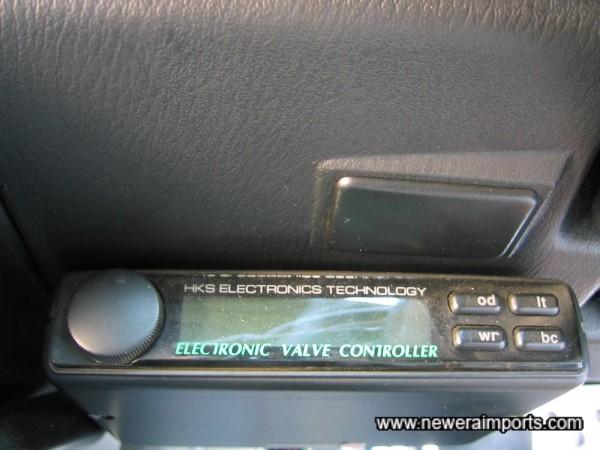 HKS EV£ 3rd generation boost controller.