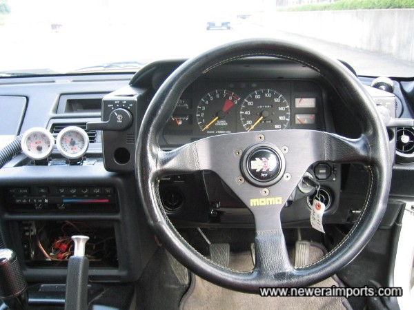 Momo Steering Wheel.