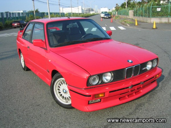 The best & most original  example of  a BMW E30 M3  We've come across in Japan!